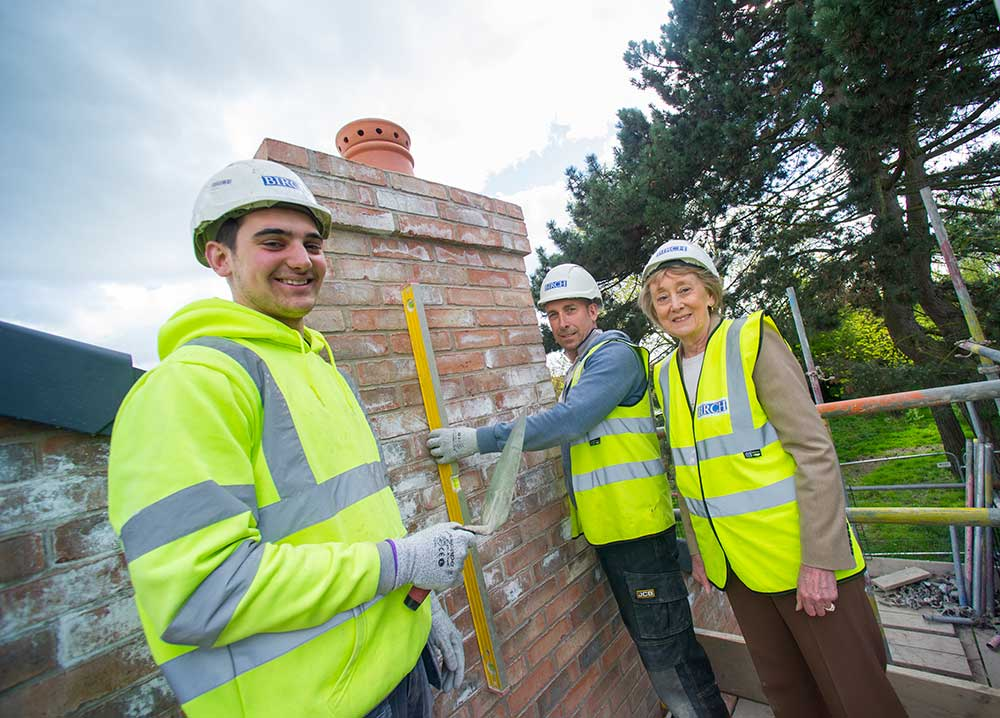 Bungalows completed as £4m Glen Lodge extension progressing
