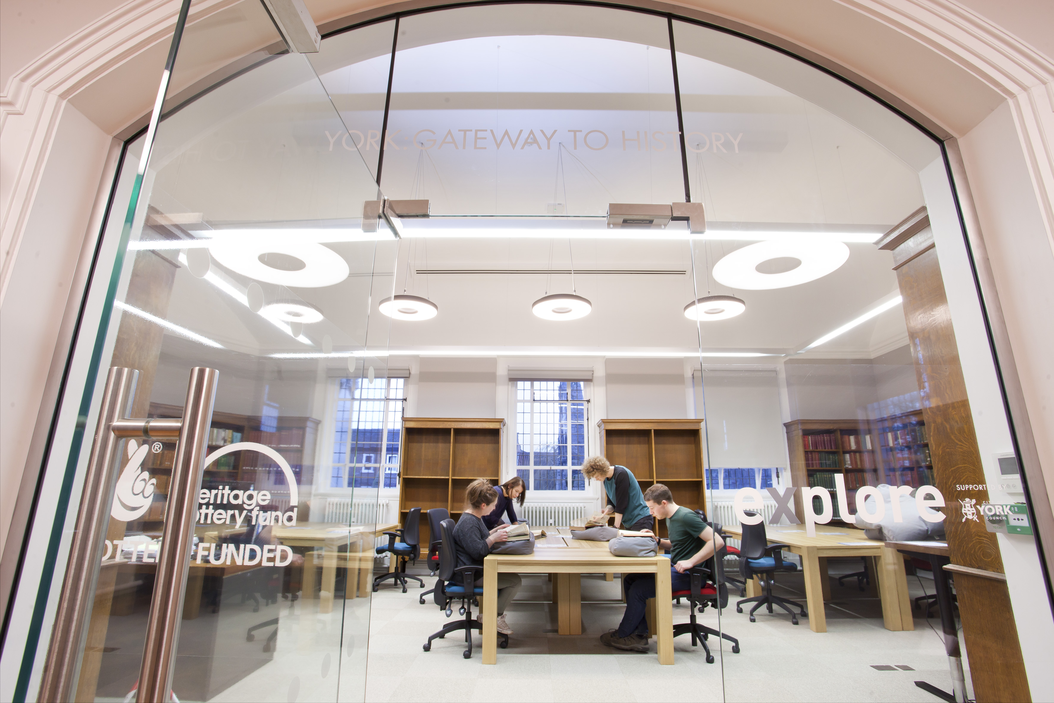 Restored and extended £2m City Library and Archive opens