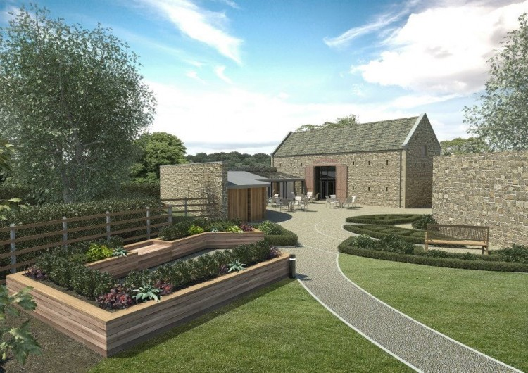 Dronfield Hall Barn restoration and extension