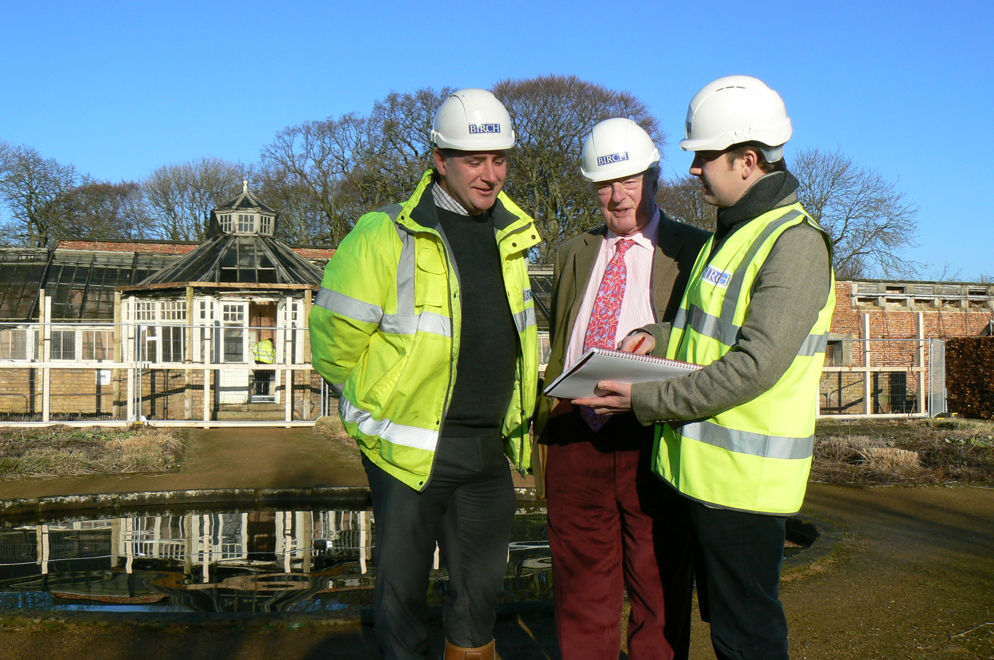 Work Begins on Grade II* listed Victorian Conservatory at Scampston Hall